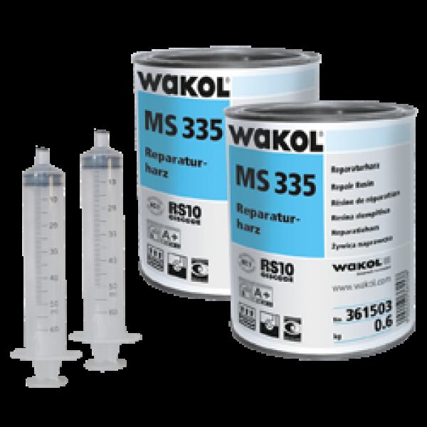 WAKOL MS 335 Repair Resin Τοποθέτηση ξύλινων δαπέδων/δαπέδων φελλού